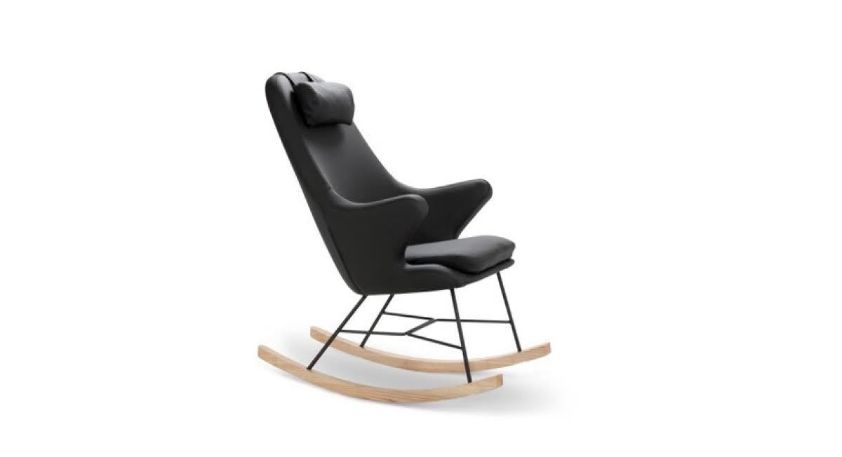 Scandinavian Design Rocking Chair