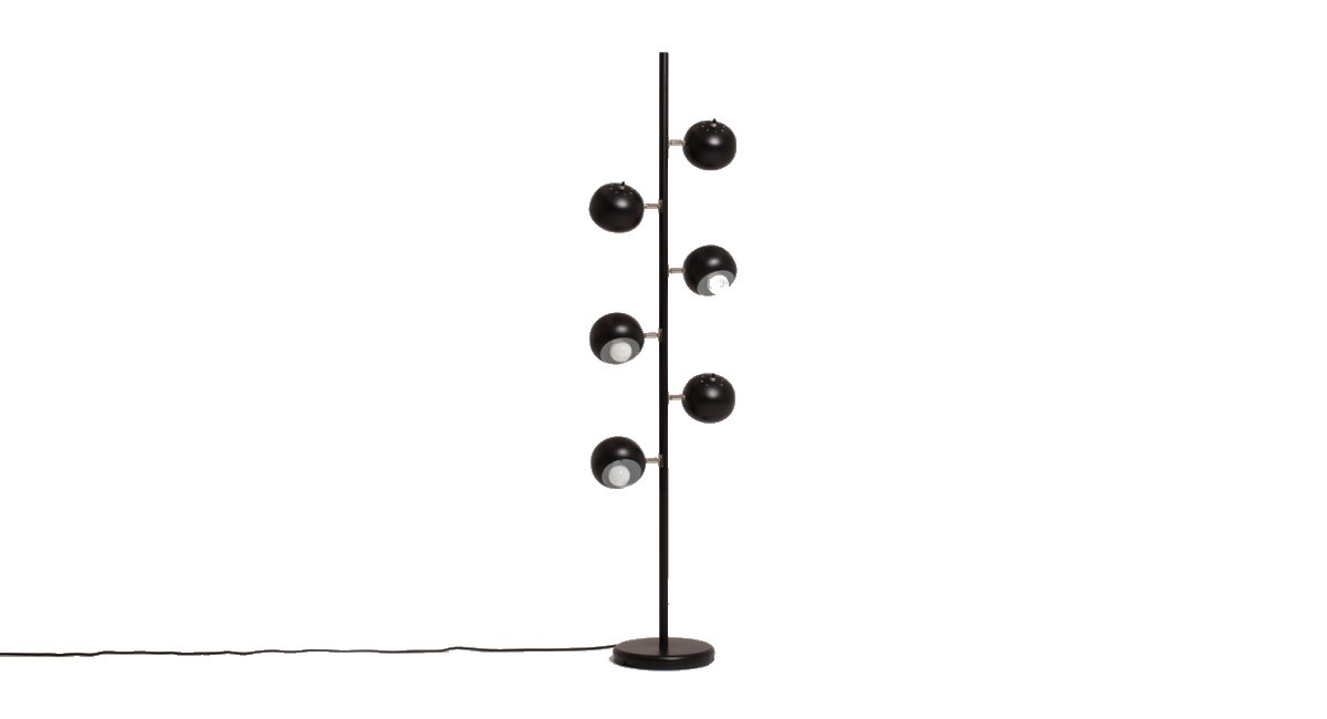 Six Globe Floor Lamp