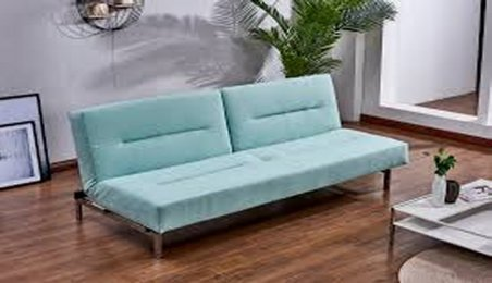In Stock For Your New Place Clearance Kube Sofa Sleeper Cancun $399  COLORS AVAILABLE 1715-04 LIGHT GREY 1715-09 GREY 1715-19 AQUA 1715-23 BLUE IN CARTON