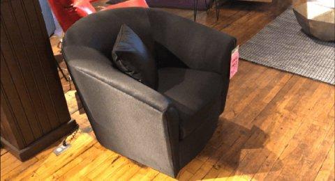 Clearance Lazar Mystic Swivel Chair $399 AS IS