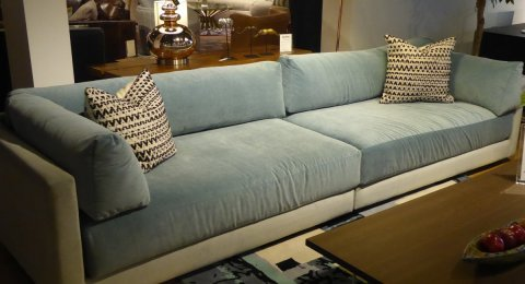 Clearance Younger  Boss Two Piece Sofa  $1999 AS IS FLOOR MODEL