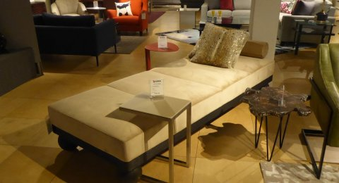 Clearance Planum Club Chaise $1699 AS IS FLOOR MODEL
