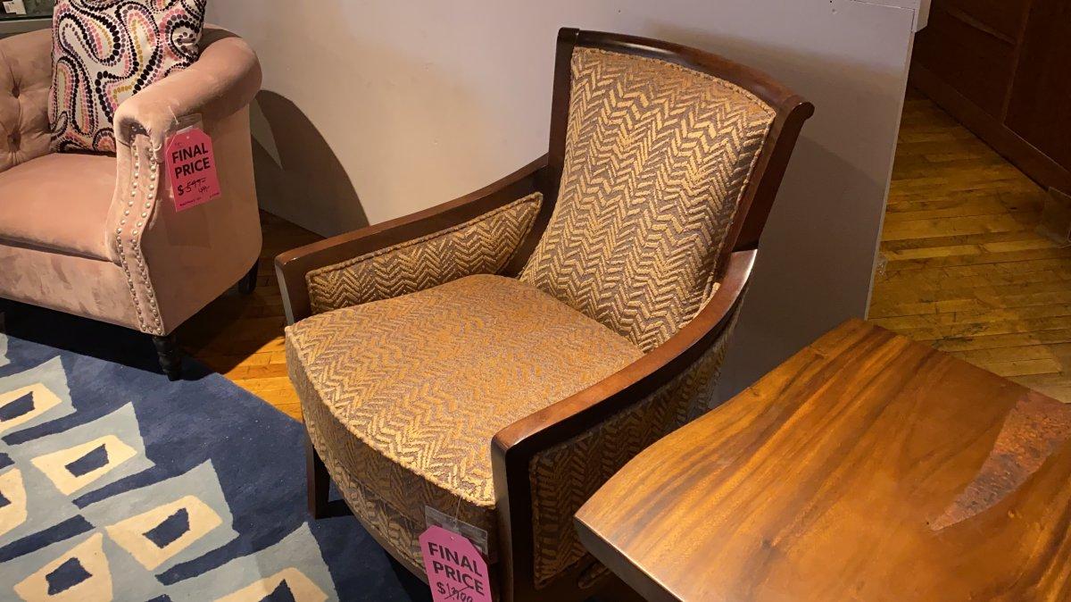 Clearance Kamea Chair $599 AS IS FLOOR MODEL