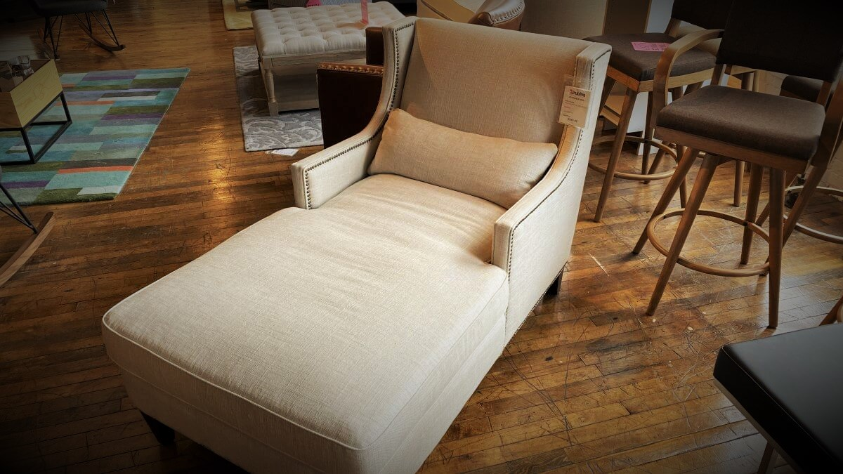 Clearance Spectra  Ava Chaise $699 AS IS FLOOR MODEL