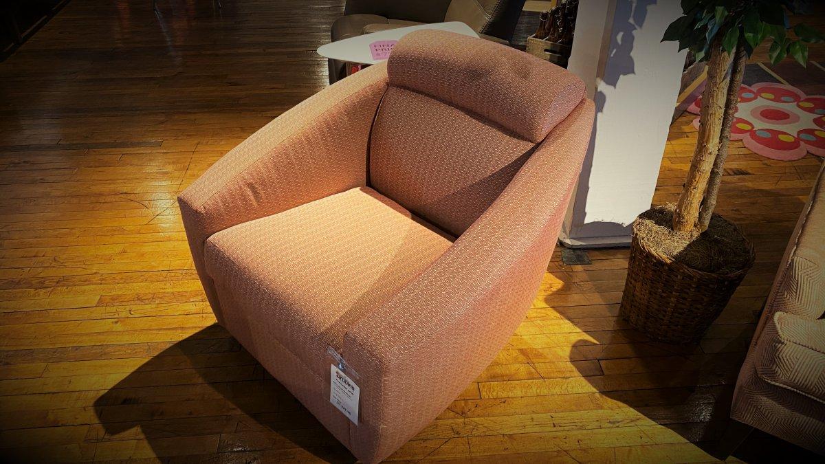 Clearance Lazar Bolo Swivel Chair $499 AS IS FLOOR MODEL