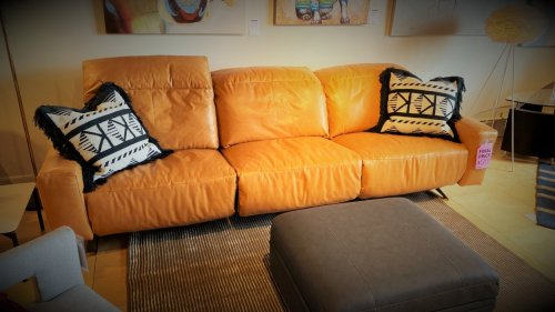 Pinnacle  Archy Power Sofa $2999 One Headrest Does not AS IS