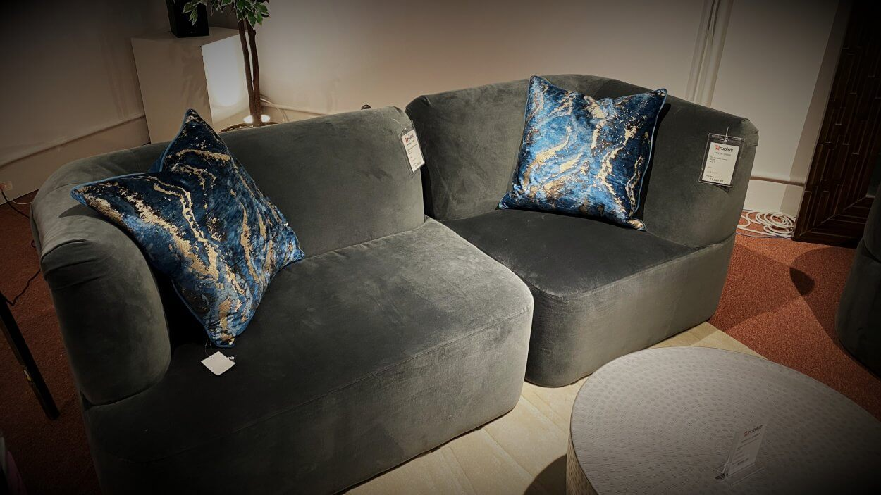 Clearance Younger Small Modular Sofa $1299 AS IS FLOOR MODEL