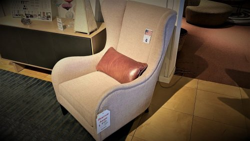 Clearance Younger Kore Wing Chair $999 AS IS FLOOR MODEL