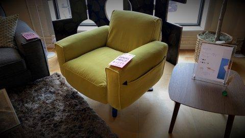 Pinnacle Crystal Swivel Chair $999 AS IS