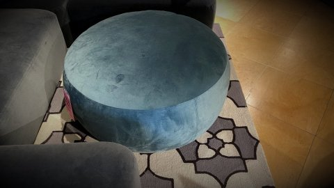 Palliser Furniture Sale On Dollop Ottoman $499. HAVE IT RIGHT AWAY!