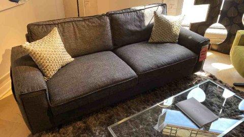 Pinnacle Crystal Sofa $1299 Reg $2549 AS IS FLOOR MODEL