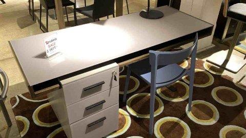 BDI On Sale Duo Desk $1299 AS IS FLOOR MODEL Downtown Store