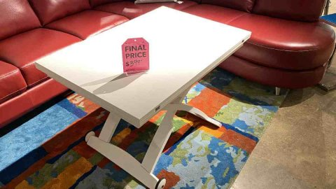 Connubia Mascotte Table $399 AS IS FLOOR MODEL