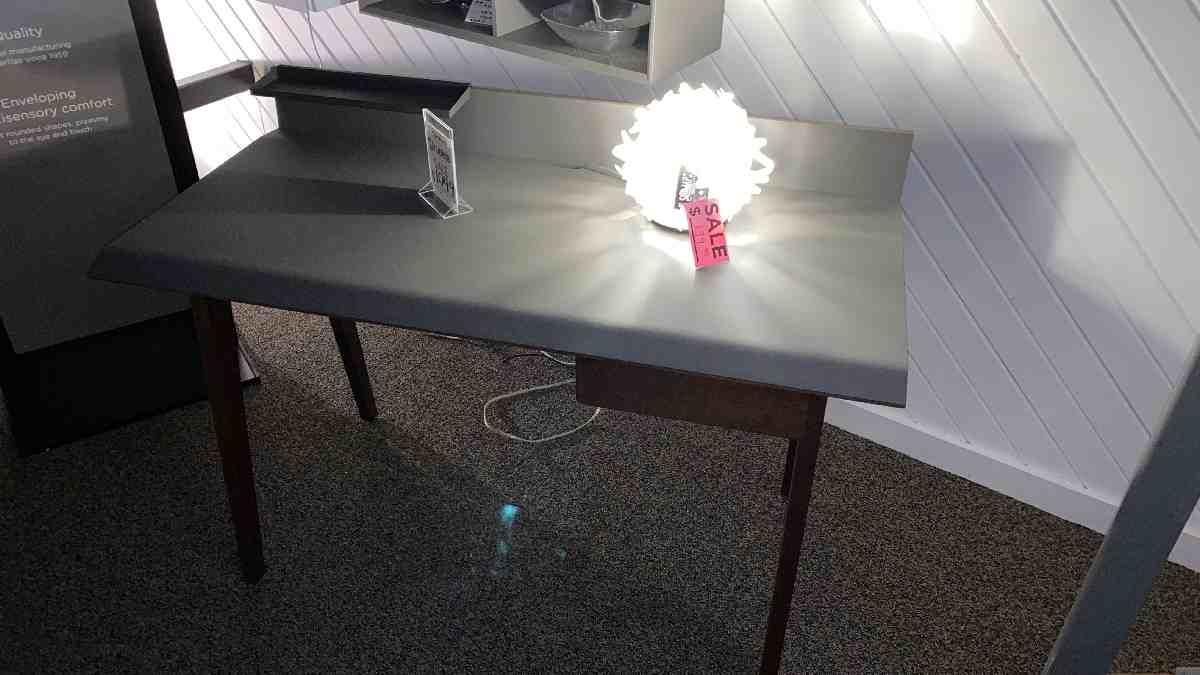 BDI Bevel Writing Desk $699 AS IS FLOOR MODEL
