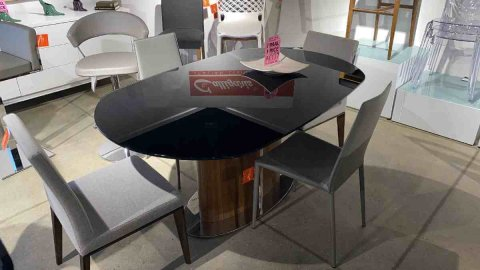 Calligaris On Sale Odyssey Dining Table CS/4043 List Price $4299 Our Price $1299 AS IS FLOOR MODEL Downtown Store
