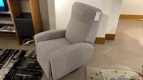 Saratoga Power Recliner $999 AT OUR WEST SIDE STORE AS IS FLOOR MODEL