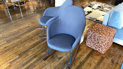 Scandinavian Style Rocking Chair $199 AS IS FLOOR MODEL Downtown Store