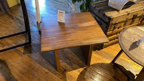 Cabin End Table $299 AS IS FLOOR MODEL