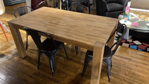 EQ3 Harvest Dining Room Table $899 AS IS FLOOR MODEL