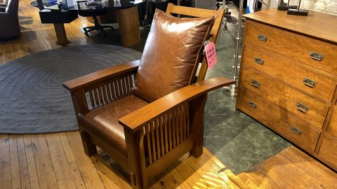 Canal Dover Morris Chair $1759 AS IS FLOOR MODEL