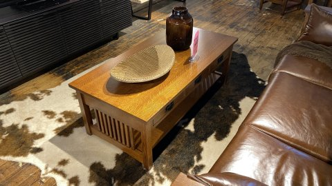 Canal Dover American Mission Coffee Table $1199 AS IS FLOOR MODEL