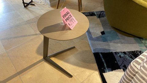 BDI On Sale Milo Table $299 AS IS FLOOR MODEL Downtown Store