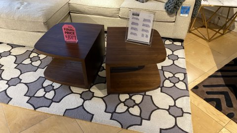 BDI On Sale Muv Coffee Table $699 AS IS FLOOR MODEL Downtown Store