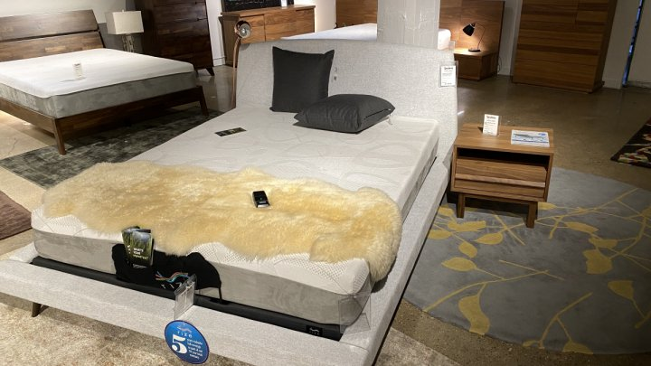 Amisco On Sale Whitney Cosmopolitan Bed Queen Size $799
