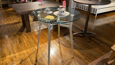 Amisco Furniture Sale Counter Stool Table Anais $149. HAVE RIGHT AWAY!