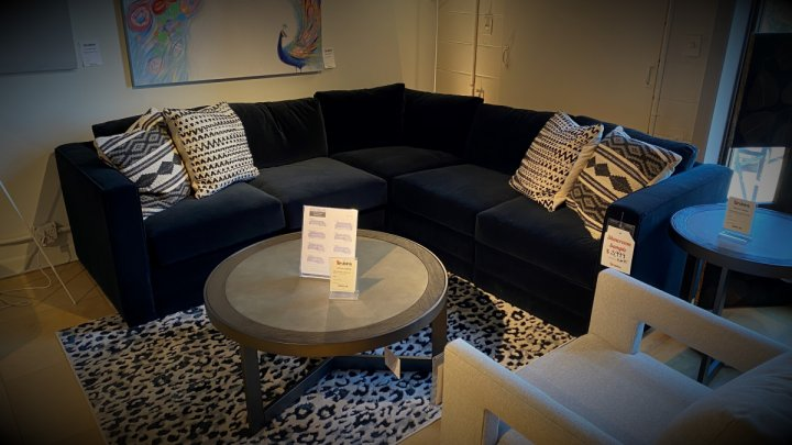 Younger Furniture Sale Proper Five Piece Sectional With Down Cushions $3499. HAVE RIGHT AWAY!