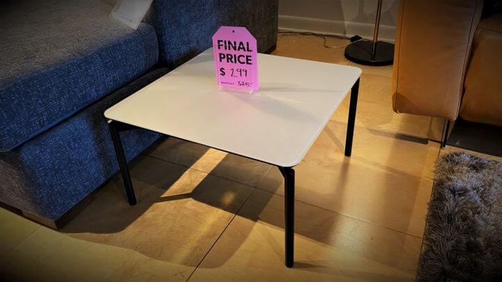 BDI Furniture Sale Radius Square Table $199. HAVE RIGHT AWAY!