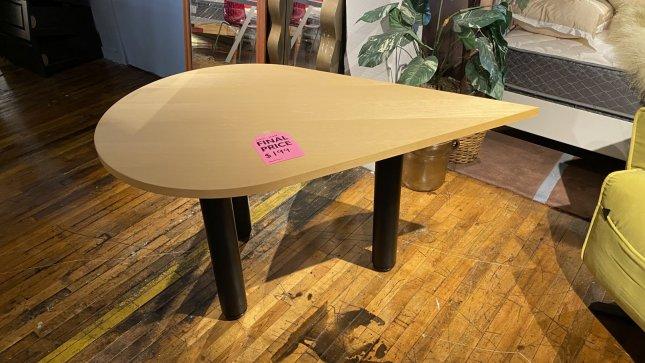 Table Sale Teardrop Shape $199. HAVE RIGHT AWAY!