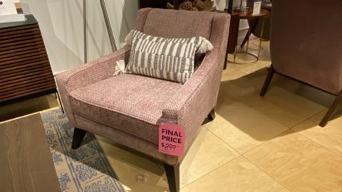Younger Furniture Sale Lily Chair $899. HAVE RIGHT AWAY!
