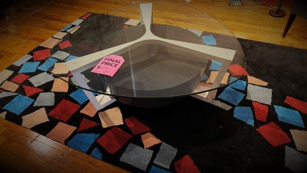 Elite Modern Furniture Sale Dalton Coffee Table, Hidden Drawer In Base $399. HAVE RIGHT AWAY!