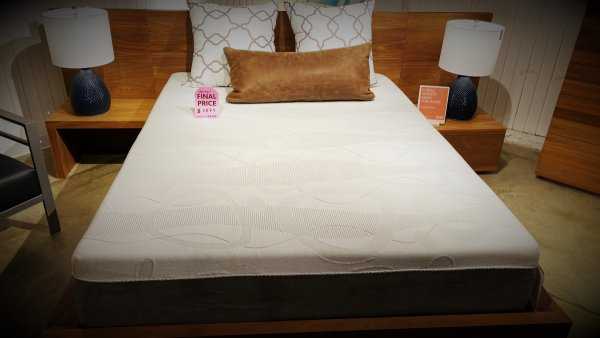 EQ3 Sale On Boom Bed With  Storage, And Two Attached Nightstands $1879 AS IS FLOOR MODEL.   IN STOCK HAVE IT RIGHT AWAY!
