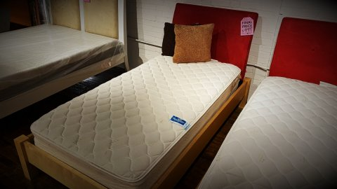 EQ3 Furniture Sale Bed With Mattress $349. HAVE RIGHT AWAY!