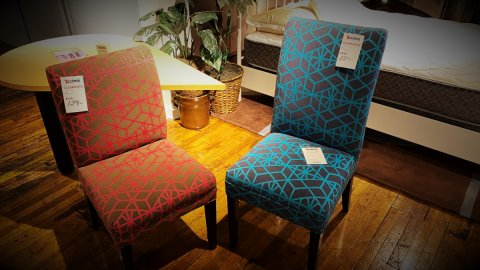 Chair Sale Custom Fabric $129. HAVE RIGHT AWAY!