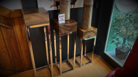 Pedestal Sale Set Of Three $699. HAVE RIGHT AWAY!