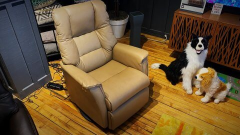 IMG Comfort Furniture Sale Verona $1699 Power Recliner In Leather. HAVE RIGHT AWAY!