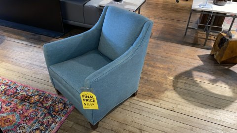 Sale On Sam Moore Urban Chair $899 AS IS FLOOR MODEL Have It Right Away!
