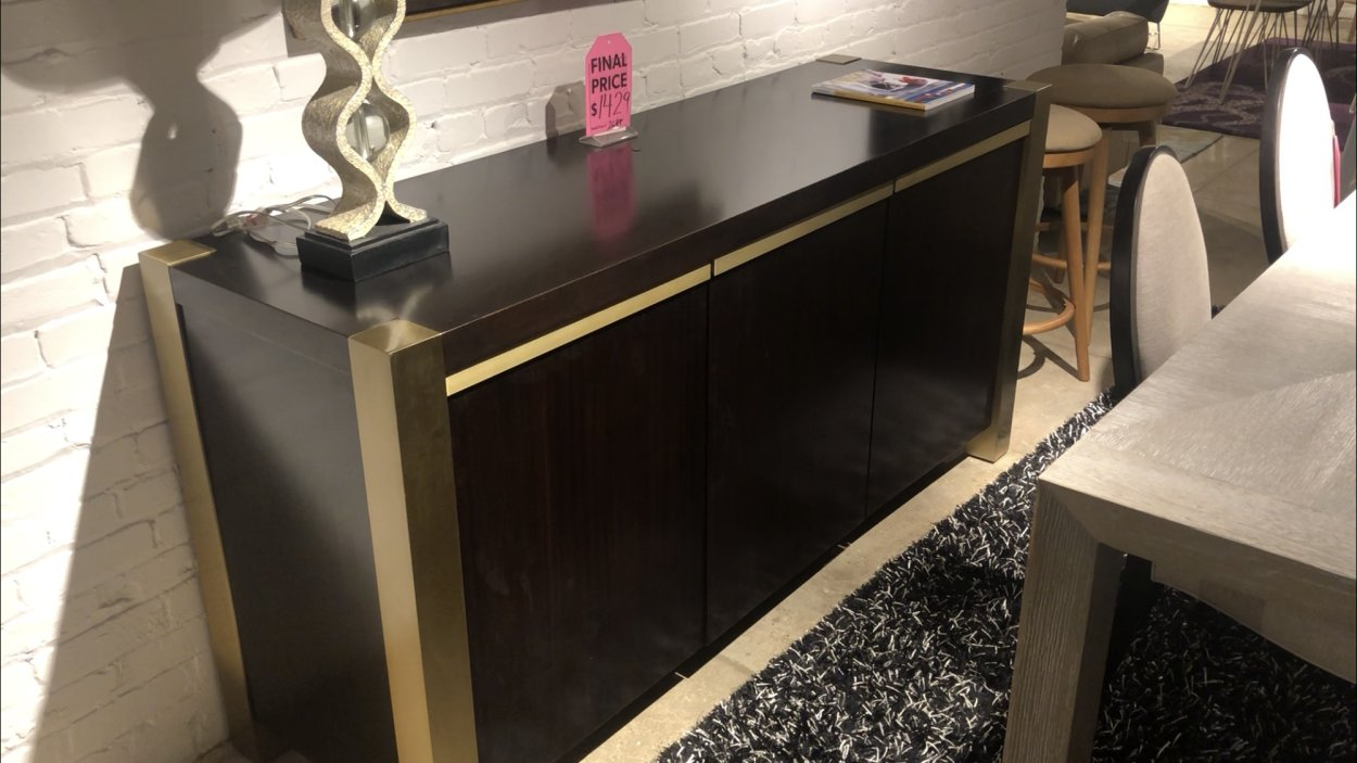 Clearance Universal Credenza $799 AS IS FLOOR MODEL
