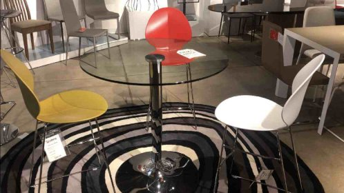 Clearance Calligaris Planet Pub Table $399 AS IS FLOOR MODEL
