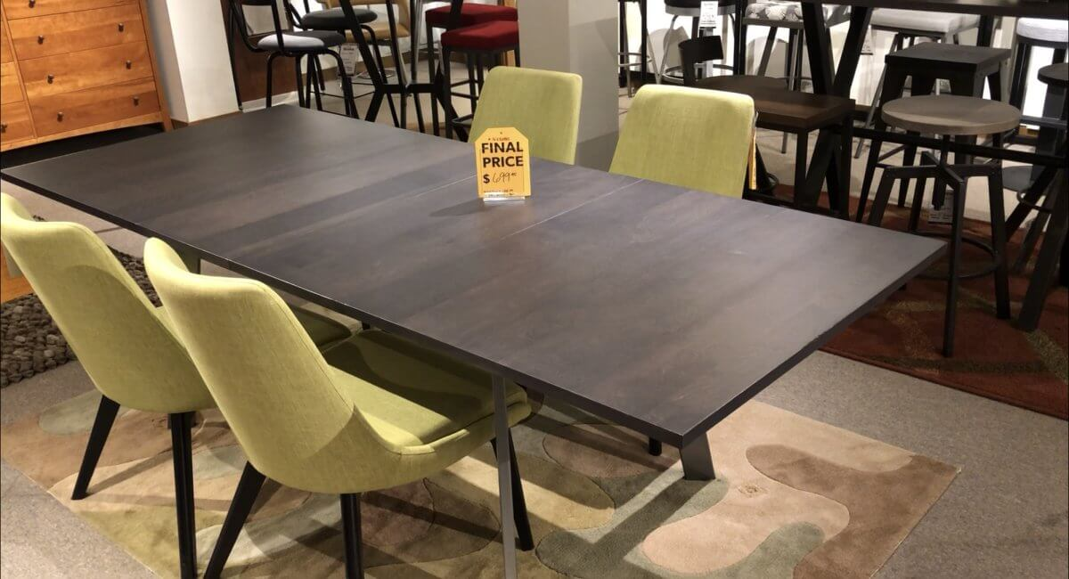 Clearance Amisco Nexus Table $499 AS IS TABLE ONLY