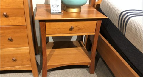 Clearance Thor's Elegance 2 Arlo Nightstands At Our West Store  $699 For Pair AS IS FLOOR MODEL
