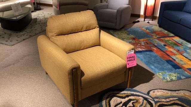 Clearance Palliser Zander Chair $599 AS IS FLOOR MODEL
