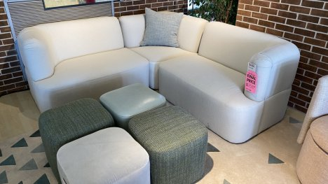 Younger Ten Sectional $1599 AT WEST SIDE STORE $1599 AS IS FLOOR MODEL