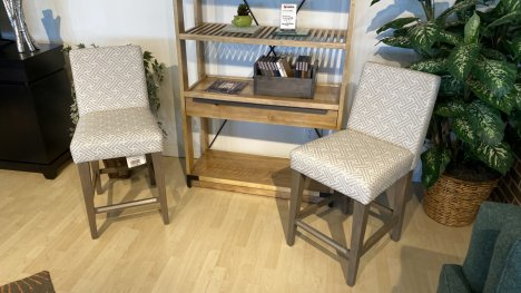 Canadel Stools Set Of Two $499 AT OUR WEST SIDE STORE AS IS FLOOR MODEL