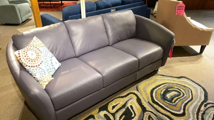 Palliser Sale Allula Sofa $1200 AS IS FLOOR MODEL WEST SIDE