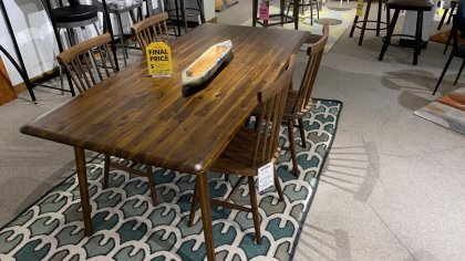 EQ3 Furniture Table, And Chairs