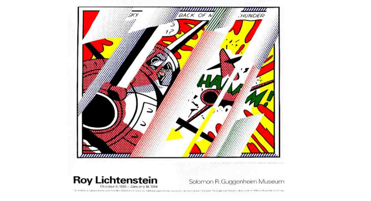 Roy Lichtenstein Poster $299 Framed